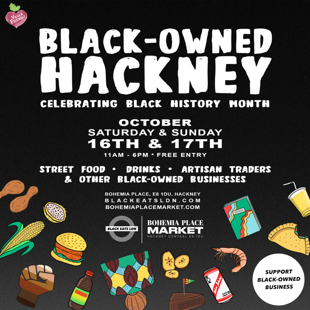 Black Owned-Hackney October